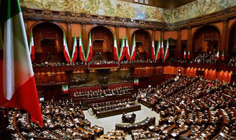 Sin e rifiuti audizione del ministro dell ambiente in for Storia del parlamento italiano