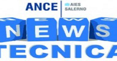 News Tecnica n. 9 del 16 marzo 2018