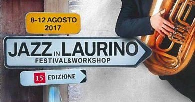 """Evento : """"JAZZ in LAURINO"""" – dal 08 al 12 Agosto 2017"""