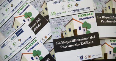 Ecobonus e Sismabonus: accordo tra Ance Aies Salerno e BCC di Aquara