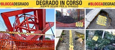 #BLOCCADEGRADO: iniziativa dei Nastri gialli