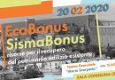 """Ecobonus /Sismabonus: risorse per il Recupero del patrimonio edilizio esistente"" – Sala Consilina, 20 febbraio 2020"