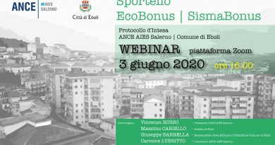 Sportello Ecobonus Sismabonus: Webinar, 03 giugno 2020, ore 16.00
